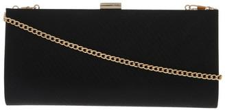 Collection Nefertiti Lock Black Clutch Bag