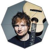 LiangZP Ed Sheeran Custom Cool Design Portable Fashion Foldable Umbrella