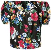 Piamita off-shoulders floral blouse - women - Silk - XS