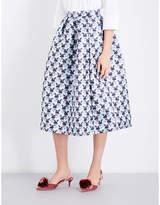 Mary Katrantzou Bowels high-rise jacquard skirt