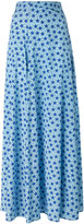P.A.R.O.S.H. long star print skirt - women - Silk/Spandex/Elastane - XS