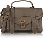 Proenza Schouler The Ps1 Tiny Leather Satchel - Mushroom