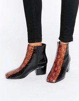 Asos Reaper Ankle Boots