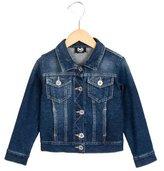 Dolce & Gabbana Girls' Denim Button-Up Jacket