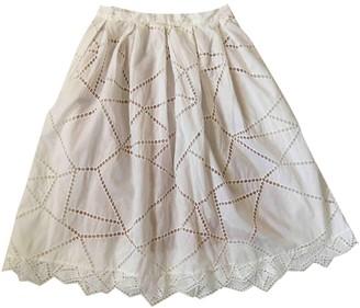 Christopher Kane White Cotton Skirt for Women