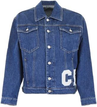 Chiara Ferragni Patch Motif Denim Jacket