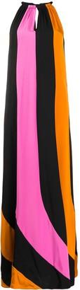 Dvf Diane Von Furstenberg Colour-Block Midi Dress
