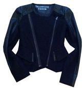 Blank NYC Wool Boucle & Vegan Leather Jacket