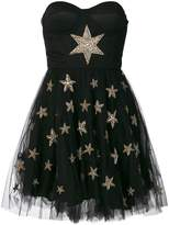 Amen tulle skirt beaded star applique dress