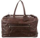 Balenciaga Leather Weekender Bag