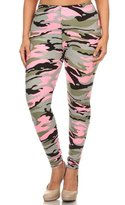 NioBe Women's Plus Size Fashion Design Leggings