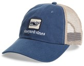 Vineyard Vines Men's Deconstructed Trucker Cap - Blue