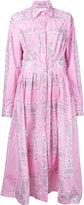 Natasha Zinko paisley print shirt dress - women - Cotton - 38