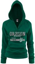 Soffe Oregon Ducks Rugby Hoodie - Women
