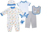 Cutie Pie Baby Blue Wild Animal Footie Set - Infant
