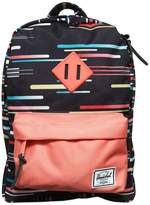 Herschel Printed Nylon Canvas Backpack