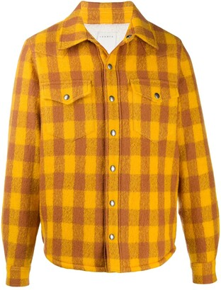 Sandro Paris Plaid Check Shirt