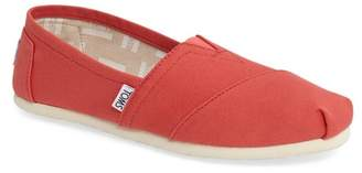 Toms Classic Alparagata Washed Twill Slip-On Sneaker