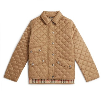 Burberry Kids Quilted Jacket (3-12 Years)