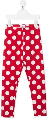 MonnaLisa Polka-Dot Print Leggings