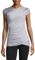 Bailey 44 Ruched Cap Sleeve Top