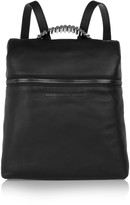 McQ by Alexander McQueen Embellished textured-leather backpack