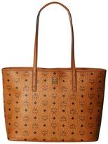 MCM Anya Shopper Top Zip Medium Shopper Tote Handbags
