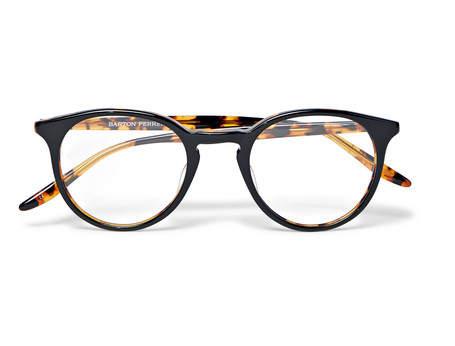 Barton Perreira Princeton Round-Frame Tortoiseshell Acetate Optical Glasses