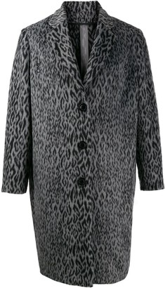 OMC animal print coat