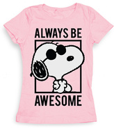 Freeze Pink 'Always Be Awesome' Tee - Girls