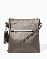 Charming charlie Front Flap Crossbody Bag