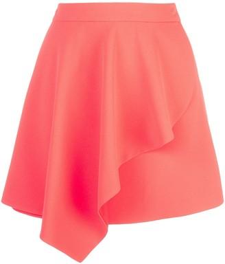 Alice + Olivia Nicky draped mini skirt