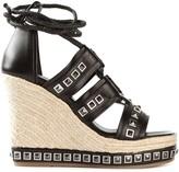 Alexander McQueen studded wedge sandals