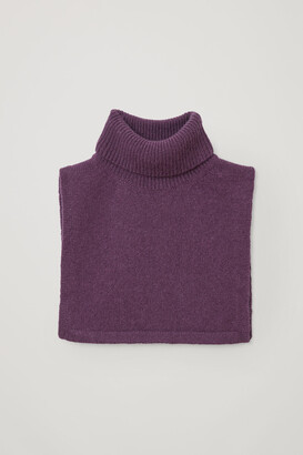 Cos Cashmere Roll Neck Scarf