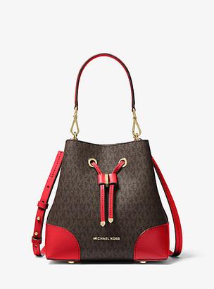 Michael Kors Mercer Gallery Small Logo Shoulder Bag