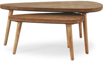 Foundry Select Wojcik 2 Piece Coffee Table Set