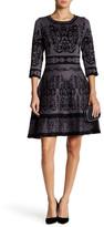 Taylor Knit Fit & Flare Dress