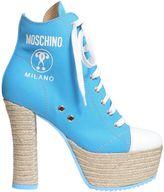 Moschino Lita Canvas Boots