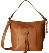 Lucky Brand Carmen Top Zip Bucket Crossbody