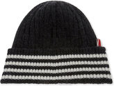 Thom Browne Striped Bar Cashmere Hat