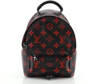 Louis Vuitton Palm Springs Backpack Limited Edition Monogram Infrarouge Mini