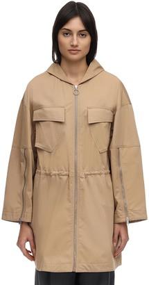 Stella McCartney Hooded Cotton Jacket