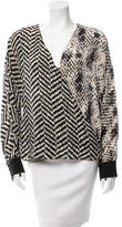 Ungaro Silk Printed Blouse