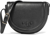 Tory Burch Serif textured-leather shoulder bag