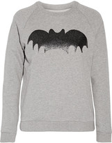 Zoe Karssen Appliquéd cotton-jersey sweatshirt