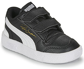 Puma RALPH SAMPSON LO INF girls's Shoes (Trainers) in Black