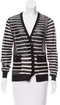 3.1 Phillip Lim Striped Wool Cardigan