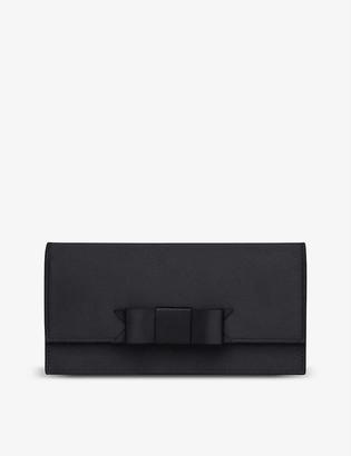LK Bennett Deyton cotton-blend clutch bag