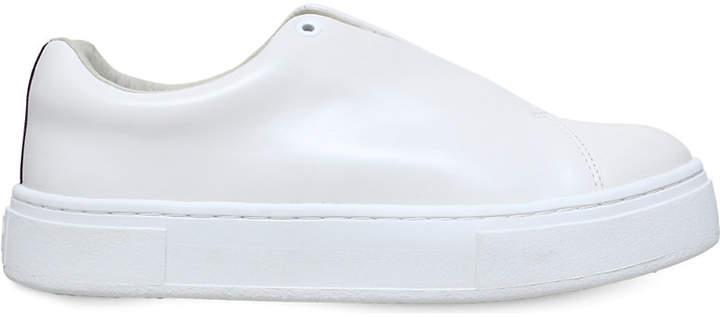 Eytys Doja leather slip-on trainers