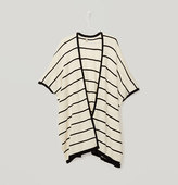LOFT Striped Sweater Poncho
